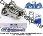 Dodge 2.0L Neon SOHC DOHC Mitsubishi 420A Eagle H Beam Rods w/ Clevite Bearings