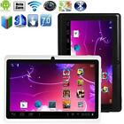 "7"" inch Quad Core Android 4.4 Tablet PC 512MB 4GB Bluetooth Dual HD Cam White EU"