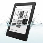 Kobo Aura H2O Waterproof eReader Wi-Fi 6.8'' 4 GB Black Touchscreen F/S