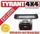 Toyota Hilux N80 Revo 2015-2017 SR5 Black Grille Guard Billet Aftermarket SR TRD