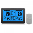 weather station, wireless digital thermometer with indoor & outdoor temperature