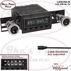 RetroSound LAGUNA-B Radio/3.5mm AUX-In for ipod/Push Button 250-56 Chevy/GMC