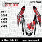 *NEW* SNOWMOBILE SLED RX1 RX-1 03 to 06  WRAP GRAPHIC DECAL STICKER KIT 4360