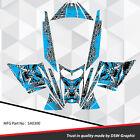 SLED WRAP DECAL STICKER GRAPHICS KIT FOR SKI-DOO REV MXZ SNOWMOBILE 03-07 SA0300