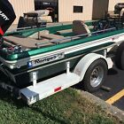 Ranger 1776 Model A Classic Bass Boat with Trailer and Many Extras Used Fishing