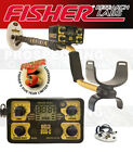 """Fisher GOLD BUG 2 Metal Detector COMBO 6.5"""" & 10"""" DD Waterproof Coil + DVD & MAG"""