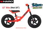 "Haro Bikes Prewheelz Kids' Balance Bike 12"" Red EVA Foam"