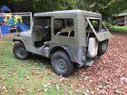 1952 Jeep CJ Military 1952 Jeep M38A1