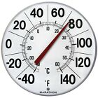 """Marathon Housewares BA03002F Large 12""""Institutional Indoor / Outdoor Thermome..."""