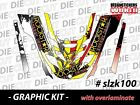99-03 SKI DOO SNOWMOBILE ZX SK SLED  WRAP GRAPHICS KIT DECAL STICKERS slzx100