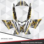 SLED WRAP DECAL STICKER GRAPHICS KIT FOR SKI-DOO REV MXZ SNOWMOBILE 03-07 SA0303
