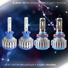 2 Set LED Headlight Kit High Beam Power Bulb Lamp H1 H9 6000K WHITE Light