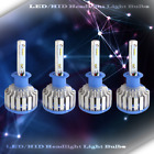 2 Set LED Headlight Kit High Beam Power Bulbs Lamp H1 WHITE Light 6000K 30W