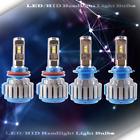 2 Set LED Headlight Kit High Beam Power Bulb Lamp H7 H9 WHITE 6000K Light