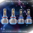 2 Set LED Headlight Kit High Beam Bulbs Lamp H11 9005 WHITE Light 6000K