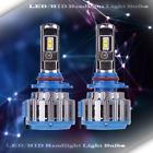 1 Set LED Headlight Kit High Beam Power Bulbs Lamp 9005 6000K WHITE Light