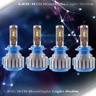 2 Set LED Headlight Kit High Beam Power Bulbs Lamp H7 WHITE Light 6000K 30W