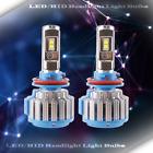 1 Set LED Headlight Kit High Beam Power Bulb Lamp H9 6000K WHITE Light