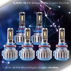 3 Set Fog Light+LED Headlight Kit High Beam Bulbs Lamp H11 9005 6000K