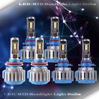 3 Set Fog Light+LED Headlight Kit High Beam Power Bulb Lamp H11 9005 6000K