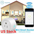 Mini WiFi Smart Remote Control Timer Switch Power Socket Outlet US Plug
