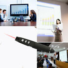 Wireless USB PowerPoint Presenter Remote Control Laser Lecture Pointer Pen NEW