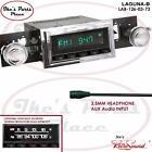 RetroSound LAGUNA-B Radio/3.5mm AUX-In for ipod/Push Button 126-03 Cutlass