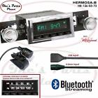 RetroSound Hermosa-B Radio/Bluetooth/USB/3.5mm AUX-In 4 ipod 126-03 Cutlass
