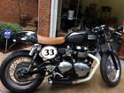 2012 Triumph Thruxton  motorcycle