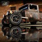 1932 Ford Model A Hot Rod Street Rat Rod Chopped Truck 1932 Chopped Ford Traditional Hot Rat Street Rod Patina Dragster Pickup Truck