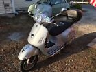 2007 Vespa GTS 250ie Silver LOW MILES!