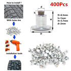 400x Screw in Tire Car Tires Studs Snow Spikes Wheel Tyres Ice Snow Chains Studs