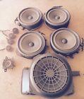 Audi A4 Stereo Speakers Complete Set Of 10 OEM 2002 2003 2004 2005