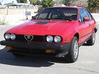 1985 Alfa Romeo GTV  1985 GTV6 | Alfa Romeo Alfetta GTV-6 Gran Turismo Veloce | Nice + Unrestored