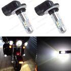 2Pcs 881 50W Bright White LED HeadLight Bulbs Lamp For Arctic Cat Snowmobiles