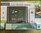 La Crosse Weather Station with Remote Sensor Colored LCD Display