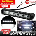 18W 7'' 6LED Light Work Bar Lamp Driving Fog Offroad SUV 4WD Car Boat Truck US