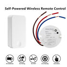 Self-Powered Wireless Transmitter Lights Switch & Receiver RF Remote Control Kit