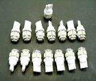 15 BRIGHT White 5 LEDs 12V Side Marker License Plate Clock Dash Lights Bulbs GM