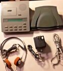 Dictaphone 3750 Microcassette Voice Processor / Headphone & Foot Pedal