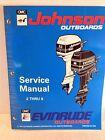 "Johnson Evinrude Outboards OMC ""ER"" 2 thru 8 Service Manual, 500606 (2786)"