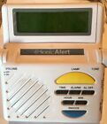 Sonic Alert Alarm Clock SB1000 WORKING Light Sonic Boom Hearing Impaired