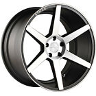 """19"""" Stance SC6 Slate Grey Machine Concave Wheels for BMW"""