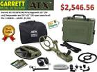 GARRETT ATX DEEPSEEKER TWO COIL METAL DETECTOR PACKAGE - FREE SHIPPING