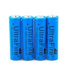 4pcs 18650 UltraFire 3.7V 3000mAh Li-ion Battery For LED FlashLight USA