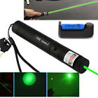 10 Miles 532nm Green Laser Pointer Pen Visible Beam 18650 Battery&Charger New