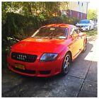 2004 Audi TT  2004 Red Audi TT 3.2 Quattro V6 Engine RARITY MODEL