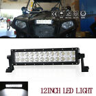 "12""Inch LED Light Bar 72W Cree Fog Lamp YAMAHA VIKING VI 700 2014-2016 DRL Combo"