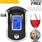 Advanced Police Digital Breath Alcohol Tester Breathalyzer Analyzer Detector LCD