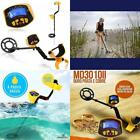 Waterproof Metal Detector Gold Digger Deep Sensitive Light Hunter LCD Display